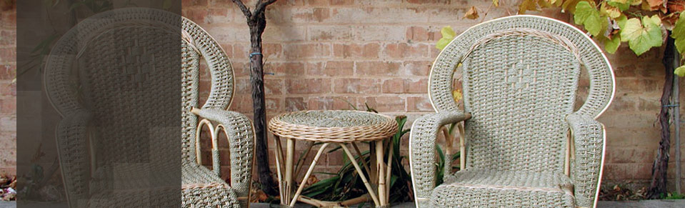 CANE FURNITURE FOR VERANDAH