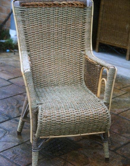Seagrass Chair   After RepairCane Furniture Repairs   Restoring Cane Furniture. Rattan Chair Repairs Brisbane. Home Design Ideas